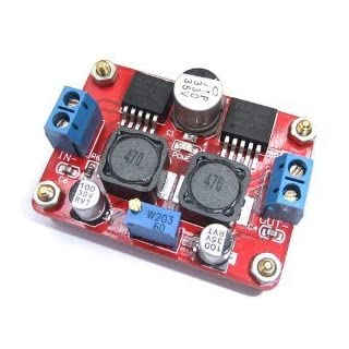 DC-DC Converter Module Step up and down In 3.5-28V Out 1.25-26V Adjustable (LM2596S+LM2577S)