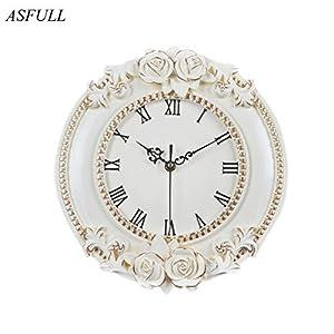 servicios de mensajeria internacional: J.Zlegend YYC-052 Creative - Reloj de Pared Decorativo Europeo