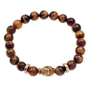 ishow buddha tigers eye bracelet for men or women