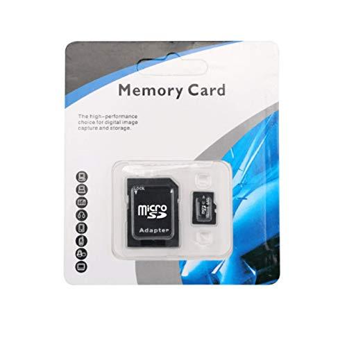 Scheda di memoria TF, scheda di memoria SD Micro SDHC Classe 6 ad alte prestazioni ad alta velocità con adattatore per smartphone per tablet PC