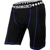 Diamante MMA Pantaloncini a compressione con sospensorio