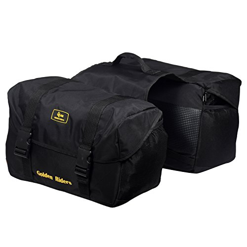 golden riders saddlebags mini48 double-side motorbike saddlebag (48 liters). Golden Riders Saddlebags MINI48 Double-side Motorbike Saddlebag (48 Liters). 41EZjB9CWfL