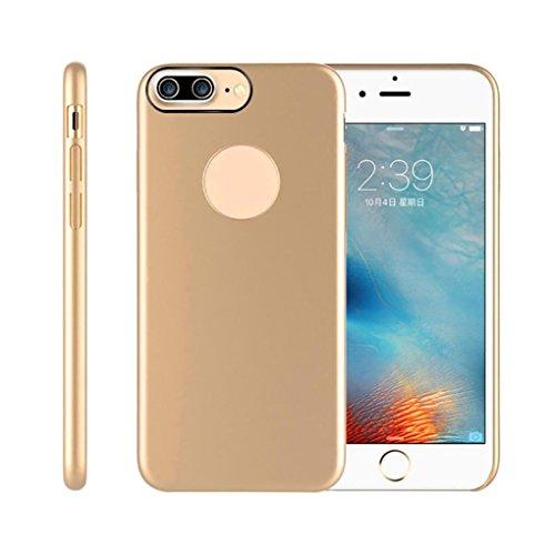 Coque iPhone 7 Plus 5.5 Inch, Tonsee Mode Disque PC Retour Case Protecteur Pour iPhone 7 Plus (Argent) Or