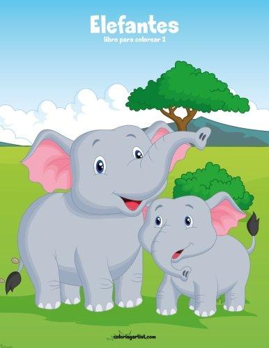 Elefantes libro para colorear 2: Volume 2