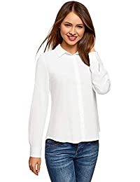 Bluse bianca e camicie Amazon T it shirt camicia donna e top 7n7IOZP
