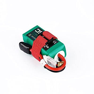 Anbee ACEHE 14.8V 1300mAh 75C 4S1P 19.24WH Capacity High Rate Lipo RC Battery with XT60 Plug for Racing Drone