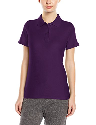 Stedman Apparel Polo/ST3100 T-Shirt da Donna Viola (Deep Berry)