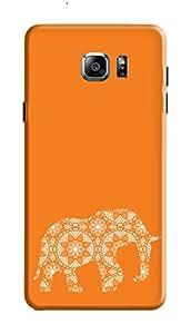 Samsung Galaxy Note 5 Back Case KanvasCases Premium Designer 3D Printed Lightweight Hard Cover