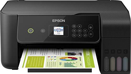 Epson EcoTank ET-2720 nachfüllbares 3-in-1 Tintenstrahl Multifunktionsgerät (Kopierer, Scanner, Drucker, DIN A4, WiFi, USB 2.0, großer Tintentank, hohe Reichweite, niedrige Seitenkosten)