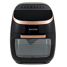 Salter EK3662RG Aerocook Pro XL, 2000 W, 11 Litre, Black/Rose Gold, 38cm x 36cm x 43.5cm