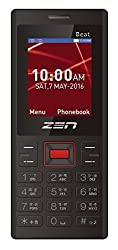ZEN X53 Beat Dual SIM Feature Phone (Black-Red)
