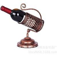 TDPYT Trofeo Estante del Vino/Estante del Vino del Hierro Labrado/Soporte De Exhibición del Vino