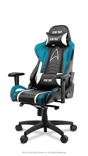 Arozzi chair Gaming Stuhl-Star Trek Edition-Blau, Large