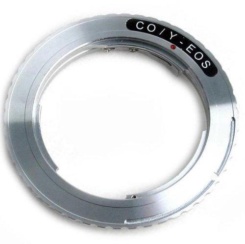 Anillo adaptador para objetivos C/Y a montura EF/EF-S de Canon EOS