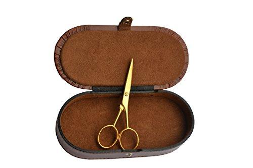 gifaz goldenen Schere Haus Mehrzweck-Papier und Basteln–Made in Italy–cm 12.5in Schmuckkästchen