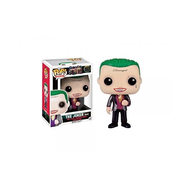 Funko Pop Joker con traje (Escuadrón Suicida 107) Funko Pop Escuadrón Suicida