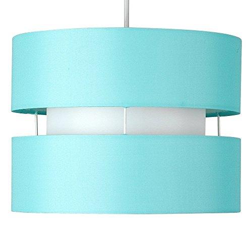 minisun-moderna-pantalla-para-lampara-de-techo-colgante-cilindrica-a-dos-niveles-con-acabado-en-azul