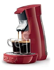 Philips Senseo HD7825/80 Viva Café Kaffeepadmaschine, Kalkindikator, rot