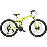 Fitness Minutes Folding Bike, Yellow, FM-F26-01S-YE