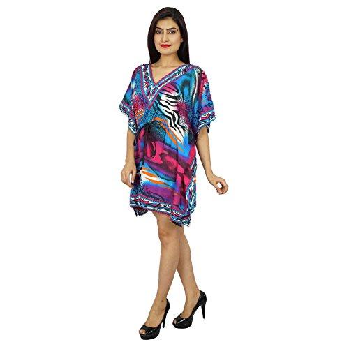 African Polyester Kaftan Boho Hippie-Plus Size Women Shirt Strand-Vertuschung-Frauen Kaftan Mehrfarben-1