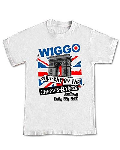 'Bradley Wiggins Sex Pistols' Anarchy T-Shirt