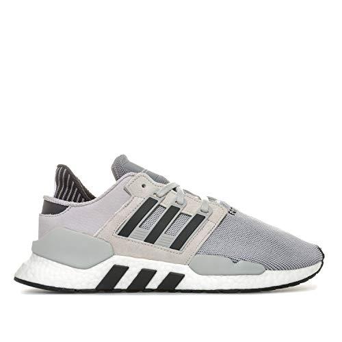 adidas Herren Originals EQT Support 91/18 Sneaker in Grau Two/Core Schwarz/Grau, Grau - grau - Größe: 43 1/3 EU