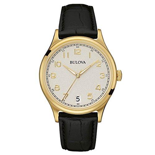 bulova-homme-97b147-vintage-quartz-analogique-cadran-blanc-noir-bracelet-cuir