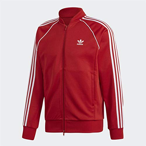 adidas Herren SST TT Sweatshirt, Power red, M
