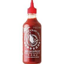 Flying Goose Salsa picante Sriracha, muy afilados,, 2unidades (2x 455ml Paquete)