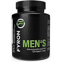 FYRON MEN's: Rendimiento + Esperma + Testosterona + 100 cápsulas