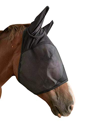 TGW RIDING Fliegenmaske mit Ohren, Standard 7 Größen, Foal