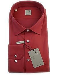 Seidensticker Herren Hemd Schwarze Rose Slim Fit rot strukturiert Gr. 37 - 45 / 229465.48