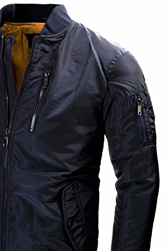 U.S. Air Force Pilotenjacke Fliegerjacke Bomberjacke Outdoor Collegejacke Winterjacke Old School Übergangsjacke Windbreaker 9895 M L XL XXL - 3