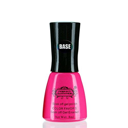 [Base Coat] Perfect Summer Vernis à Ongles Nail Art Semi Permanent Soak Off Gel UV 8ml Base