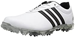 adidas Men s Adipure Flex Wd Ftwwht Cb Golf Shoe White 13 2E US