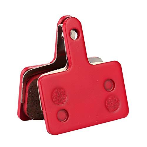 KNOSSOS Pastiglie Freni a Disco in pastiglia di Ceramica P181Bp per Rosso Semi-Metallizzato Sram Avid MTB