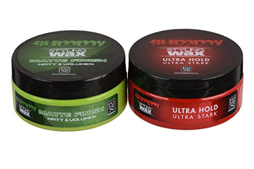 Fonex Gummy Styling Wax Matte Finish 150 ml - Ultra Hold 150 ml CROSS-LOOK | Haarwachs, Haarwax für Männer | Hair wax men für kurze & lange - Wachs Pommade Männer