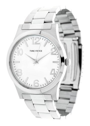 Time Force tf-4097 m02 m – Reloj de pulsera de hombre, correa de acero inoxidable color plata
