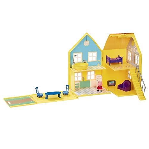 Giochi Preziosi–Peppa Pig la Grande casa Deluxe, Multicolor, ppc38000