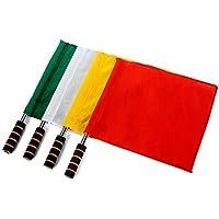 fourHeart fútbol banderines de córner fútbol Rugby Banderas de Árbitro Linesman El mejor regalo para el Día de San Valentín