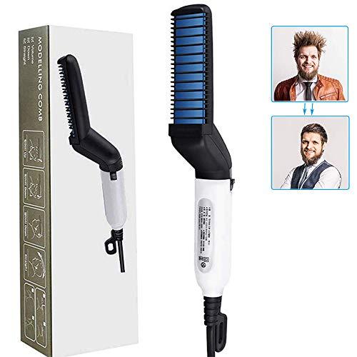 Peine eléctrico alisar cabello GLEADING, cepillo