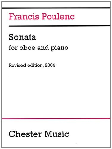 Sonata for Oboe and Piano [With Oboe Part Booklet]