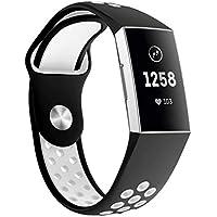 Hunpta@ Uhrenarmband Für Fitbit Charge 3, Sport Atmungsaktive Silikon Armband Armband
