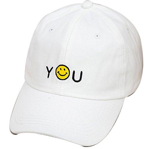 Belsen - Casquette de Baseball - Femme Multicolore jaune Taille Unique Blanc