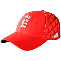 New Balance England Cricket Official T20 Snap Hat - Flame