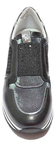 SNEAKER NOIR JARDINS ART.P717231 17231 SLIP ON BLACK Nero