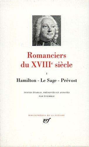 Romanciers du XVIIIe siècle, tome 1
