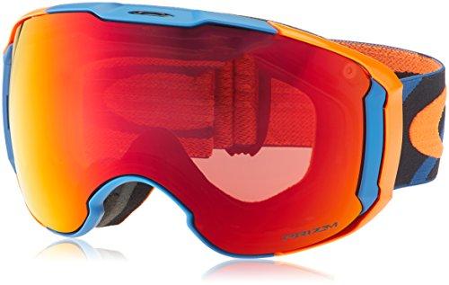 Oakley Unisex-Erwachsene Airbrake Xl 707125 1 Sportbrille, Blau (Hazard Bar Bluee Orange/Prizmtorchiridium&Prizmro), 99