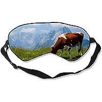 Schlafmaske, natürliche Seide, Augenbinde, super glatte Augenmaske (Tierkuh) preisvergleich bei billige-tabletten.eu