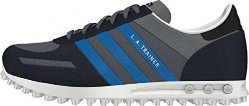 Adidas M17123, Jungen Laufschuhe grau - blau
